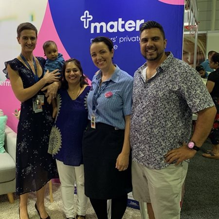 Mater Mothers' on show