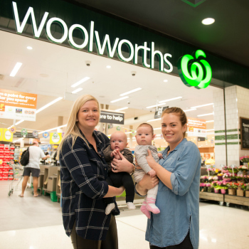 Woolworths morning teas