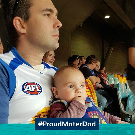 First time dad Josh shares his parenting journey