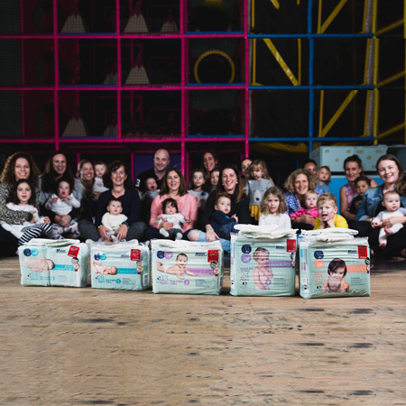 Mater Nappies boosts The Nappy Collective's May drive with 300 000 nappies
